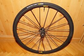 2013 Mavic R-SYS SLR Clincher Rear Wheel for w/ FREE Tyre Road Racing Bicycle Shimano/SRAM