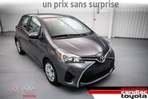 2015 Toyota Yaris LE * AUTO * AC * PACK ELECTR *