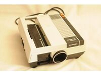 35mm Hanimex Rondette Slide Projector c/w screen and table