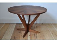 Vintage 60's Danish Teak Coffee Side Table (model 92 ) by Georg Jensen for Kubus