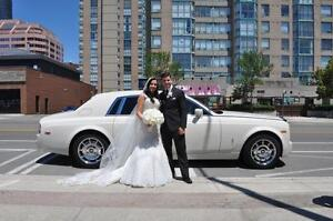 GTAs Newest White Rolls Royce Phantom Limo Limousine Wedding City of Toronto Toronto (GTA) image 7