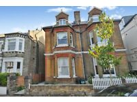 a fabulous two double bedroom ground floor flat with private garden for rent in Putney