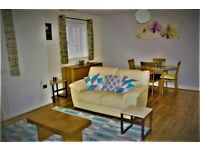 Spacious modern furnished 2 double bedroom apartment,available immediately. Suit professionals