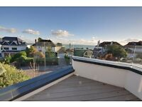 Bournemouth/Alum Chine: Fully furnished, four bedroom end of terrace house, with private garden.