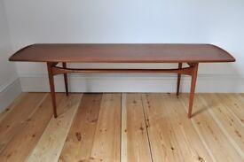 Vintage Retro 50's 60's Danish Tove & Edvard Kindt - Larsen coffee table FD-503