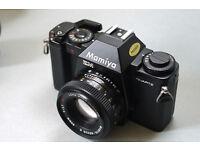 mamiya zm 35mm slr manual automatic film camera lomo lomography