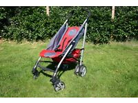 Chicco Stroller complete with raincovers etc.