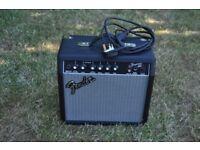 Fender 15g guitar amp 15 watt output 8inch speaker good condition