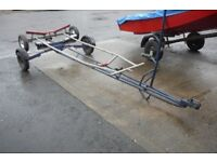 COMBI SAILING BOAT DINGHY TRAILER - SUITS BOATS/ DINGHIES UP TO 14 FEET