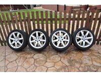 4 Mercedes Alloys, on Avon tyres.