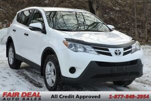 2013 Toyota RAV4 LE: AWD/Climate Control/All Power Options