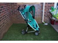 Quinny Zapp Pushchairs green stroller From free smoke and pets home
