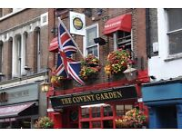 Pub in West End looking for experienced Bar Staff