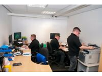 Modern Office's - 100sqft suitable for 1 or 2 desks - from £50pw