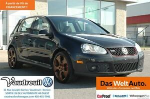 2009 Volkswagen GTI 5-PORTES + MOTEUR NEUF + TOIT + MAGS 18`