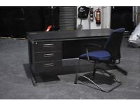 Office Desk and Chair - Six sets available - open to offers.