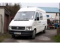Volkswagon VW LT35 95 TDI MWB 2005 White VAN - Good Condition - ideal for camper conversion