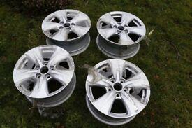 16 inch x 7J 5x110 4x alloy wheels new