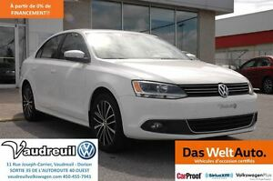 2013 Volkswagen Jetta 2.5L Highline + CUIR + AUTOMATIQUE + BLUET