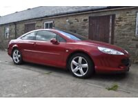 2006 Peugeot 407 Coupe 2.7 se v6 hdi automatic spares or repairs