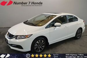 2015 Honda Civic EX| Backup Cam, Bluetooth, Power Group!