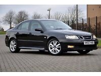 2007 Saab 9-3 1.9 TiD Vector Sport Anniversary 4dr+DIESEL+FREE WARRANTY+FULL LEATHER+12 MONTHS MOT