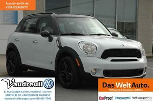 2014 MINI Cooper Countryman Cooper S ALL4 + CUIR + TOIT PANO