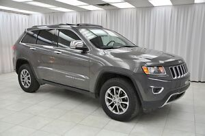 2014 Jeep Grand Cherokee LIMITED 4x4 SUV w/ HTD LEATHER, NAV, BL