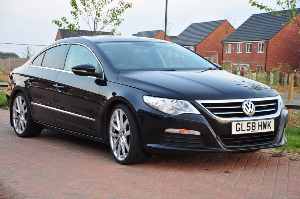 2009 vw passat cc sport tdi 140 black 6 speed 101k miles in peterborough cambridgeshire gumtree. Black Bedroom Furniture Sets. Home Design Ideas