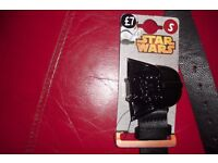 "NEW ""STAR WARS"" BLACK BELT SIZE SMALL 28""-30"" COST £7.00"