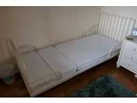 Childs extendable bed