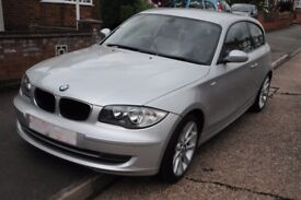 BMW 1series 118i SE, silver, 2007, 2L petrol, great condition, reliable, reluctant sale