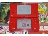 Nintendo DSI Red and Games