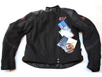"""BVS Viper Leather / Textile Jacket New Good quality Size 40 38"""" Chest"""