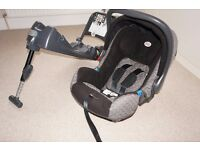 Britax baby carrier car seat and isofix base
