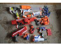 Nerf gun bundle as seen in photo.