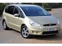 2006 Ford S-Max 1.8 TDCi Zetec 5dr (6 speeds)+DIESEL+NEW CLUTCH&FLYWHEEL FITTED+7 SEATER