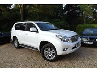2011 TOYOTA LANDCRUISER 3.0 D4-D AUTOMATIC 60TH ANNIVERSARY MODEL LIMITED EDITION TOP SPEC 53K FTSH