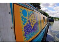 50ft Narrowboat houseboat canal boat, Perfect LIVEABOARD READY TO SAIL! AWAY HOME!