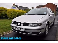 SEAT LEON 1.6 S 5DR PETROL ( FULL SERVICE HISTORY)