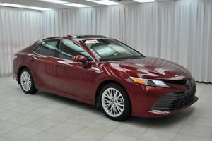 2018 Toyota Camry XLE HYBRID SEDAN w/ BLUETOOTH, HEATED LEATHER,