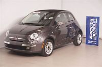 2014 Fiat 500 Convertible Lounge+CUIR