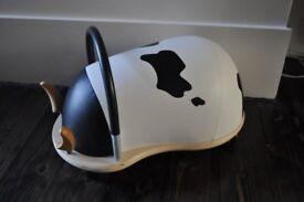 wheely bug cow, large