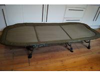 TRAKKER RLX FLAT 6 BEDCHAIR LATEST VERSION CARP BED FISHING TACKLE GEAR