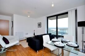 ( 1 ) One Bedroom with Balcony and Gym, Waterside Park, Royal Docks, London, E16