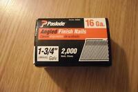 "Paslode 16 Ga, 1-3/4"" Angled Finishing nails"