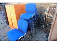 PADDED OFFICE CHAIRS ONLY A FEW LEFT VGC
