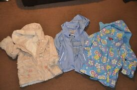 girls clothes: year 3-4 - jackets, coats, tops, jeans, trousers, shorts and dresses