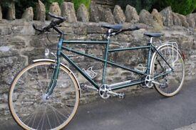 Bike, Daws Galaxy Twin Tandem, Reynolds 531 Tubing