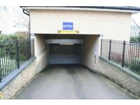 Secure allocated underground car parking space, central Cambridge, monthly rental, with fob